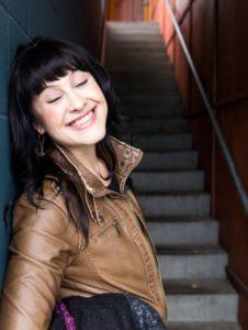 writer Alexandra Franzen smiling